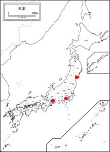 日本地図(七夕)
